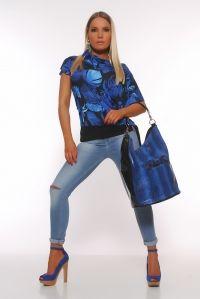 Camiseta Calypso Azul