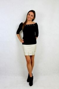 Falda Anarchia Beige
