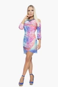 Vestido Arcoiris Azul