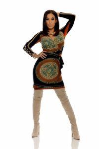Vestido Elixir II Ind Marron