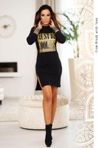 Vestido Franca Negro