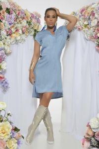 Vestido Katinca Azul C