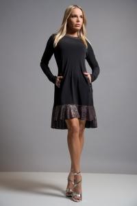 Vestido Linda Br Lila