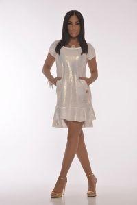 Vestido Linda Dorado
