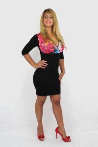 Vestido Margarita Negro