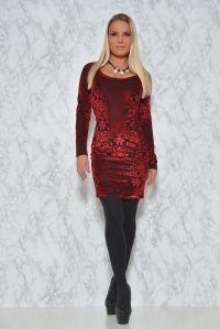 Vestido Maria Rojo