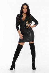 Vestido Melis Negro