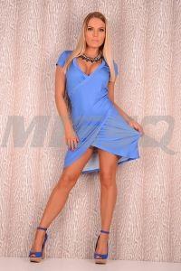 Vestido Opica Azul