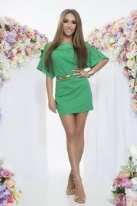 Vestido Pickwick Verde