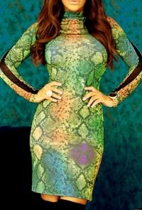 Vestido Posy Serp